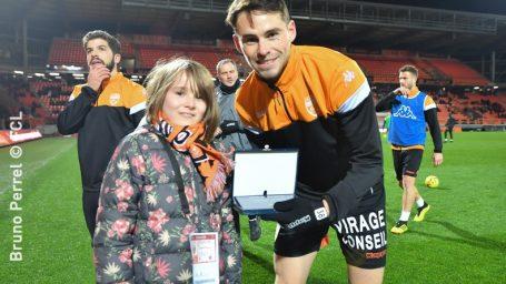Le Goff Vincent (FC Lorient)  -  Joueur du mois de janvier